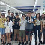 """Пълен комплект от медали за ШК """"Етър"""" на класическия шах"""
